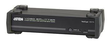ATEN Video rozbočovač 1 PC - 4 DVI Dual Link + audio