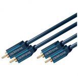 ClickTronic HQ OFC kabel 2x CINCH - 2x CINCH RCA, M/M, 2m