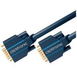 ClickTronic Kabel k monitoru HQ OFC (Coax) SVGA MD15HD-MD15HD s ferrity, 5m