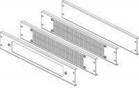 CONTEG Sada panelů s filtrem pro modulární podstavce 60/60, výška 100mm, šedá