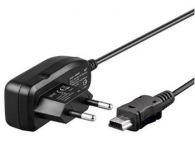 goobay  Napájecí a nabíjecí adaptér 230V na mini USB pro mobilní telefony, 1A