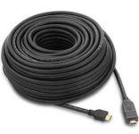 PremiumCord HDMI High Speed with Ether. kabel se zesilovačem, 30m, 3x stínění, M/M, zlacené konektory, černý