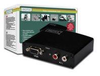 DIGITUS Multimediální převodník HDMI na VGA + audio