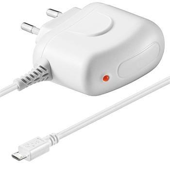 goobay Nabíjecí zdroj s konektorem micro USB pro mobilní telefony na 230V, max. 2A
