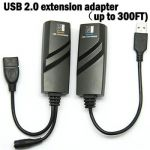 PremiumCord USB 2.0 extender po Cat5/Cat5e/Cat6 do 50m