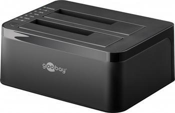 "PremiumCord USB 3.0 HDD dokovací stanice pro dva HDD 2.5""/3.5"" SATA"