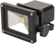 Extol LED reflektor, nabíjecí s podstavcem, 10W, 800lm, IP65, denní světlo