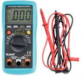 Extol Premium Digitální multimetr, auto volba rozsahů, měření do 600V/10A/20MO, test baterií