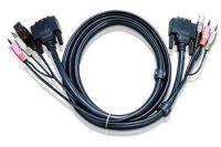 Zvětšit fotografii - ATEN KVM DVI, audio sdružený kabel k CE, CS-261/1642-4 USB, 3m