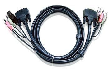 ATEN KVM DVI, audio sdružený kabel k CE, CS-261/1642-4 USB, 5m