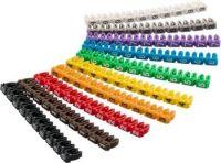 goobay Označovací klipy na kabel do průměru 4-6mm, 10x10ks, čísla