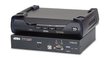 ATEN Zařízení pro ovládání 4K HDMI KVM, OverNet, rack, USB, audio, RS-232, SFP