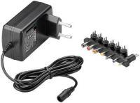 goobay Univerzální napájecí adaptér 230V/9V-24V max. 24 W a 1,5 A