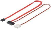 """Premiumcord Kabel pro připojení disků s rozhraním Micro SATA (např. 4,6 cm / 1,8 """"pevné disky) 1.5 GBits / 3 GBits"""