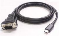 PremiumCord Převodník USB3.1 na VGA, kabel 1,8m, rozlišení FULL HD 1080p@60Hz