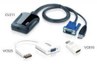 ATEN Adaptér pro připojení notebooku přes USB jako konzole - Crash Cart IT KIt