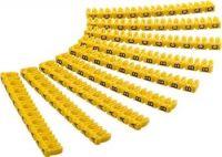 goobay Označovací klipy na kabel do průměru 2.5mm, písmena A,B,C
