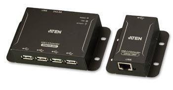 ATEN 4-port USB 2.0 extender po Cat5/Cat5e/Cat6 do 50m