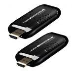 PremiumCord HDMI Wireless extender na 15m, pásmo 5.8GHz