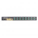"""ATEN 16-port KVM USB+PS/2, OSD, rack 19"""" CS-1716A"""