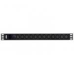 ATEN Základní napájecí jednotka 12x IEC320 C13, 1x IEC320 C20 vstup, 1U, 16A