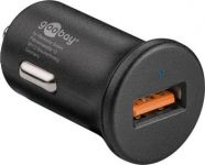 goobay Napájecí autoadaptér na USB - Quick Charge™ QC3.0 max. 3A