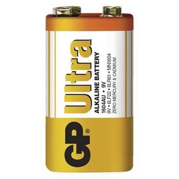 GP alkalická baterie Ultra 6LF22 (9V)