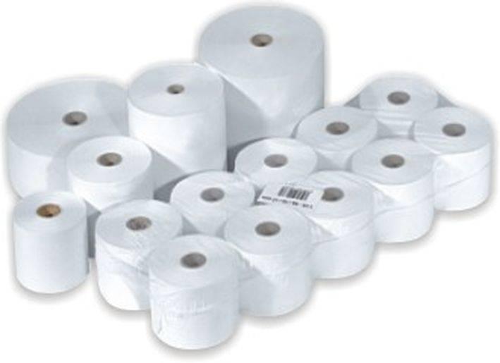 Papírové pokladní kotoučky 76/60/12, 1 originál papír a 1 kopie Epson