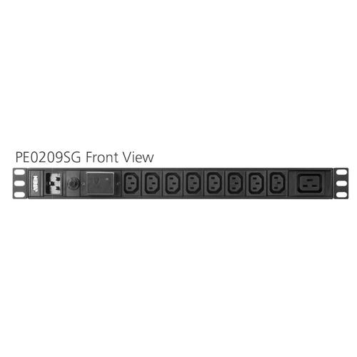 ATEN Základní napájecí jednotka 10x IEC320 C13, 1x IEC320 C20 vstup, 1U, 16A