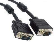 PremiumCord Kabel k monitoru HQ (Coax) 2x ferrit,SVGA 15p, DDC2,3xCoax+8žil, 15m