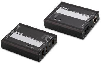 ATEN 4-port USB 2.0 extender po Cat5/Cat5e/Cat6 do 100m