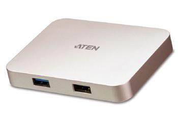 ATEN USB-C 4K Ultra mini dock USB, HDMI, PD2.0