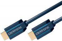 ClickTronic Ultra High Speed HDMI kabel, rozlišení 8K@60Hz, zlacené konektory, 1m