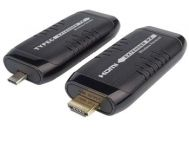 PremiumCord HDMI Wireless extender na 15m, vstup USB-C, výstup HDMI