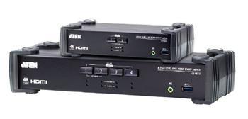 ATEN 2-port USB3.0 4K HDMI KVMP, audio