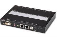 ATEN Zařízení pro ovládání DVI PC/KVM OverNet, rack, RS-232, Virtual Media