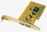SUNIX USB 2.0 karta PCI, 2x konektor typ A
