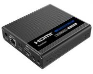 PremiumCord Přijímač HDMI 2.0 extenderu Ultra HD 4kx2k@60Hz na 70m pro Kaskádu