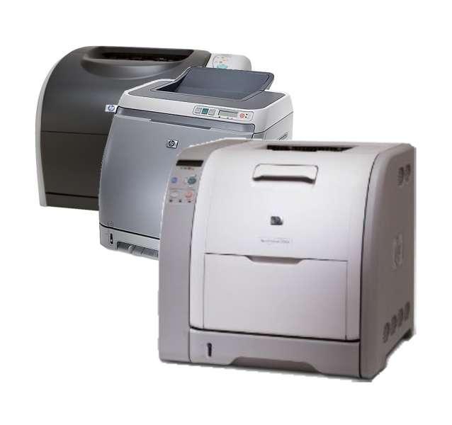 Oprava tiskárny HP Color LaserJet 1xxx, 2xxx, 3xxx