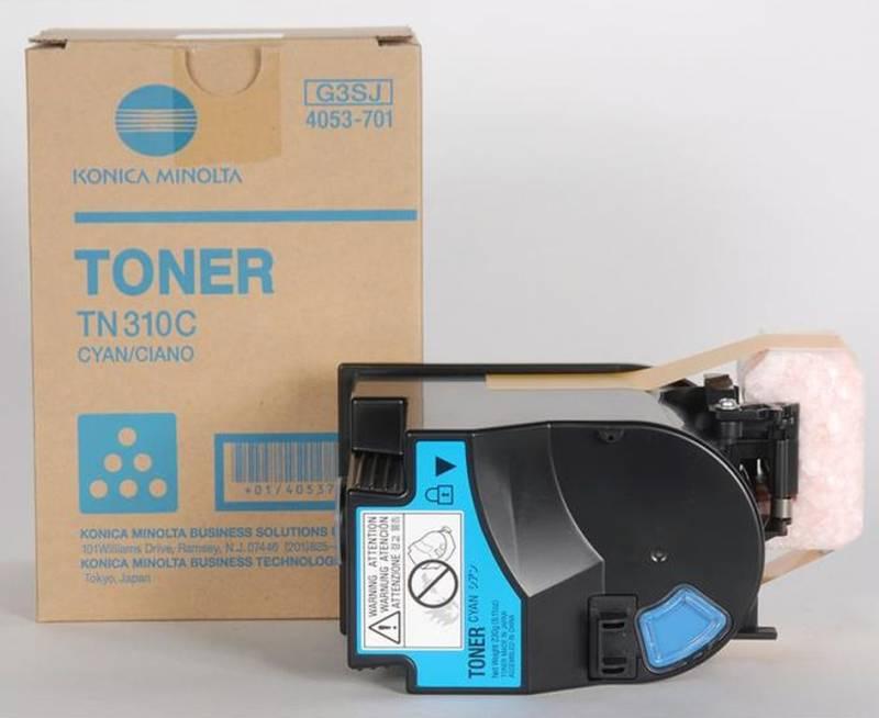 Originální toner Konica Minolta TN-310C modrý, 11500