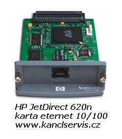 Print server HP JetDirect 620N (EIO), 10/ 100TX, RJ-45