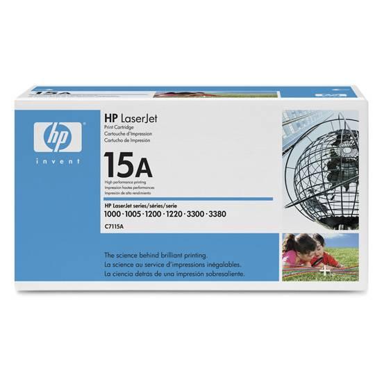 Originální toner HP C7115A, HP 15A na 2500 stran