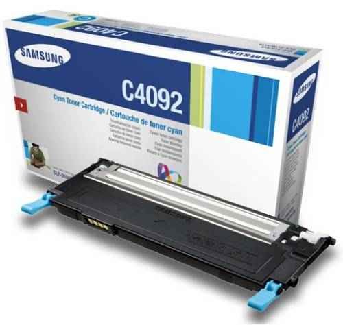 Originální toner Samsung CLT-C4092S modrý, 1000 stran