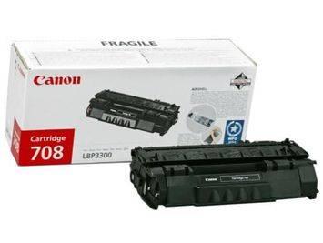 Originální toner Canon CRG-708Bk, 2500 stran
