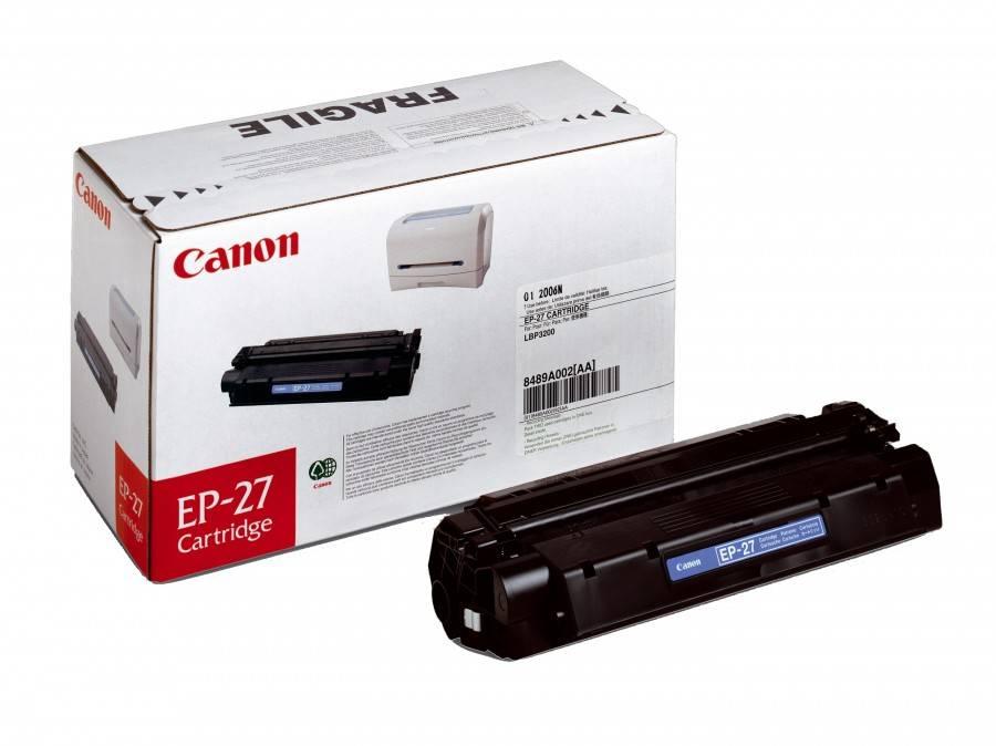 Originální toner Canon EP-27, 2500 stran