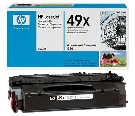 Originální toner HP Q5949X, 49X na 6000 stran